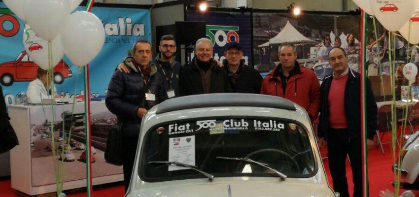 """Fiat 500 Club Italia festeggia i 60 anni del mitico """"Cinquino"""""""