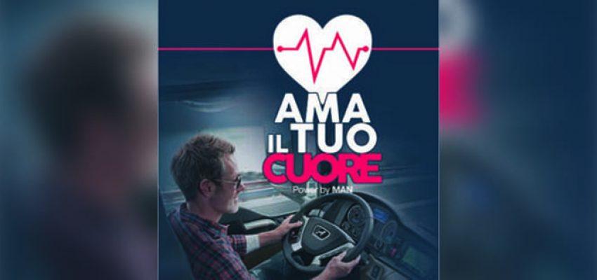"""""""Ama il tuo cuore"""", l'iniziativa di Man per la prevenzione cardiovascolare"""