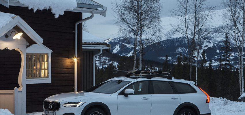 """Quel Lodge da sogno, tutto legno e relax, nella """"Volvo Svezia"""""""