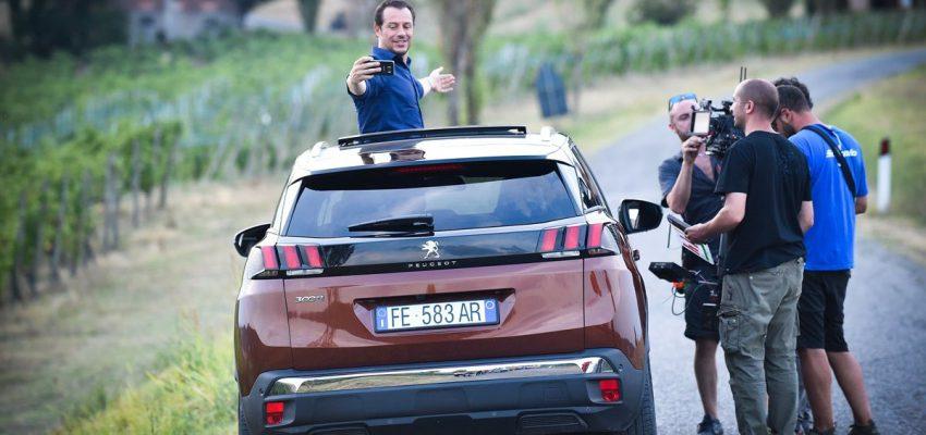 Stefano Accorsi e le sensazioni (Peugeot) da vivere