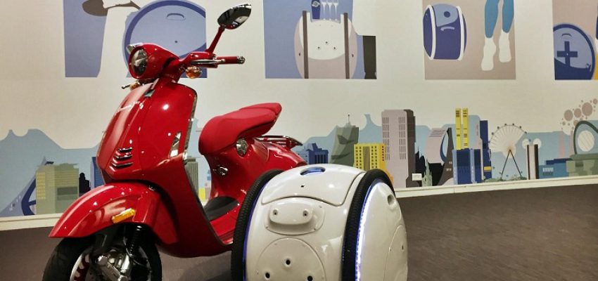 "Piaggio Gita e Kilo, i robot ""porta spesa"""