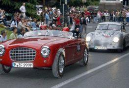 Per i 90 anni della Mille Miglia, auto da tutto il mondo