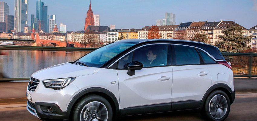 Opel Crossland X, una piacevole  sorpresa
