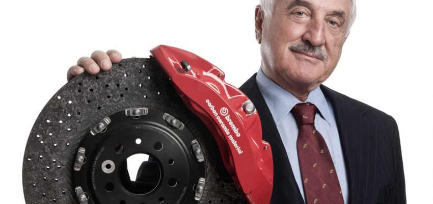 "Bombassei (Brembo) nella ""Hall of Fame"""