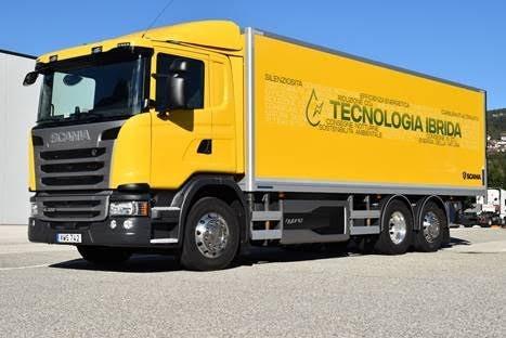 camion ibrido