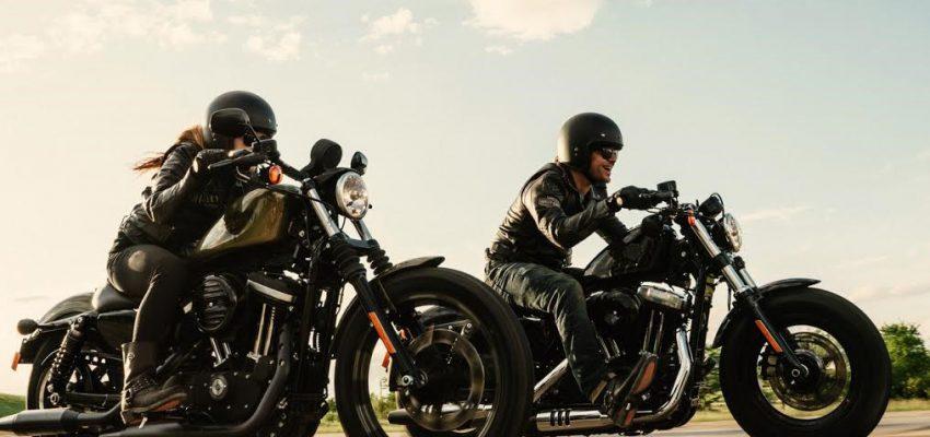 Il sogno di guidare una Harley si avvera