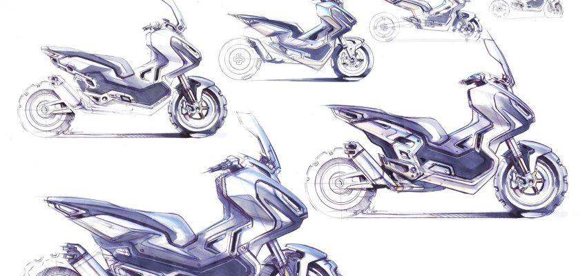 Se Honda X-ADV incontra il mondo dell'arte