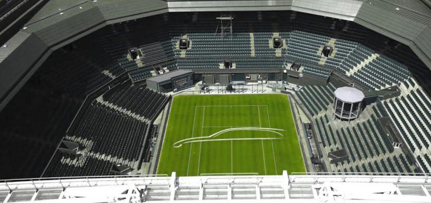 Il tappeto di Wimbledon per Jaguar XF Sportbrake
