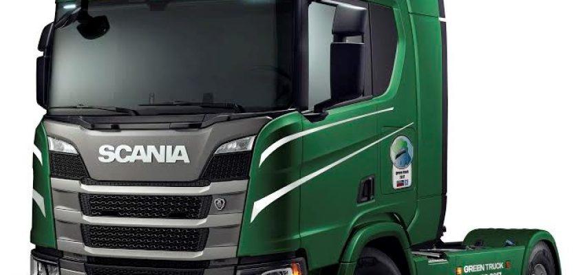 """A Scania R 450 il titolo """"Green Truck 2017"""""""