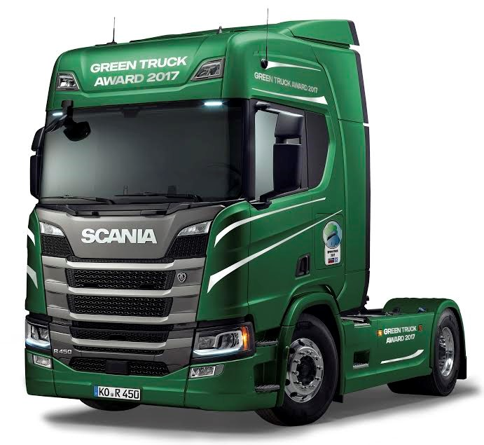 green truck 2017
