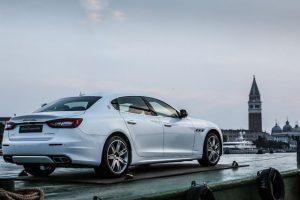La Maserati Quattroporte GTS GranLusso in viaggio verso Venezia