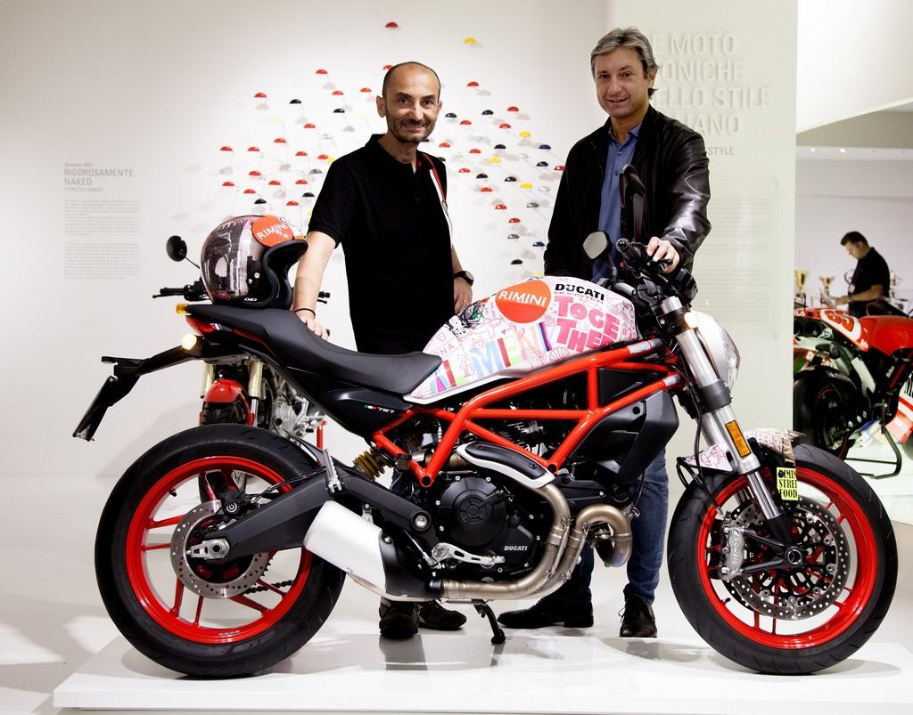 Un Ducati Monster 797 per Rimini