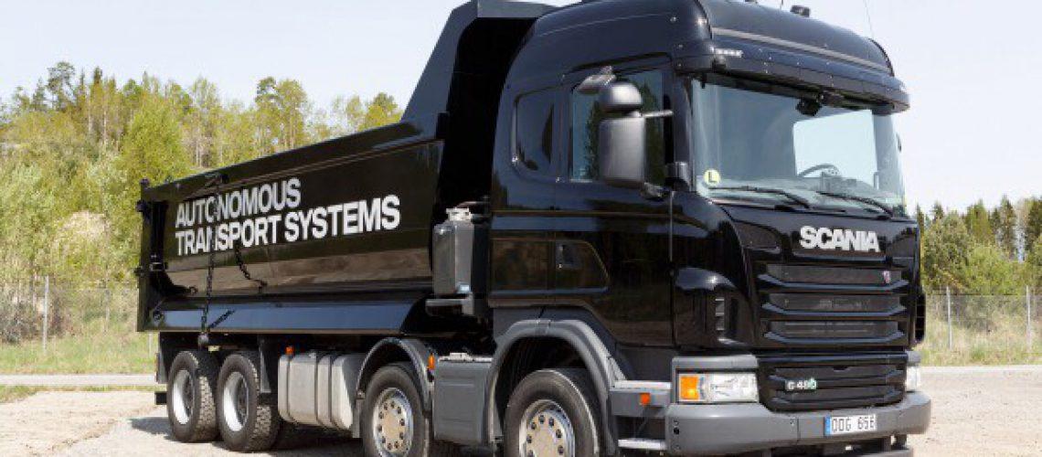 Guidare un camion in remoto