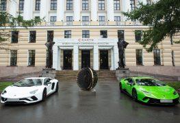 Lamborghini in mostra a San Pietroburgo