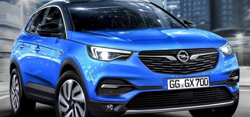 Opel Grandland X, prova di forza