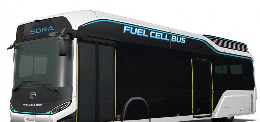 Sora, il bus del futuro con celle a combustibile
