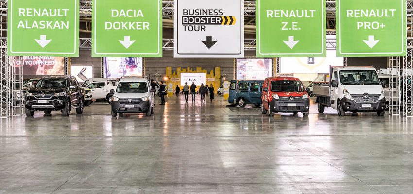Torna il Renault Business Booster Tour
