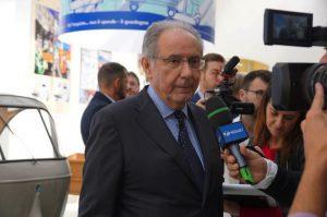 Il presidente e ad di Piaggio, Roberto Colaninno