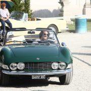 Auto d'epoca: la Lancia Aurelia B24 Convertibile trionfa in Villa Borromeo