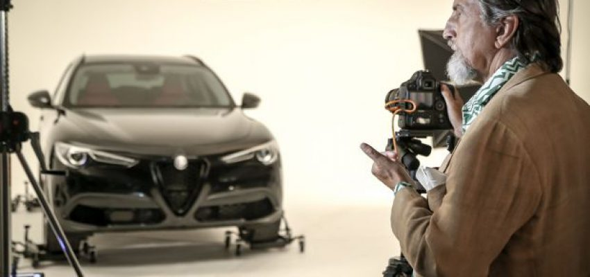 Giovanni Gastel e la sua personale gamma Alfa Romeo B-Tech
