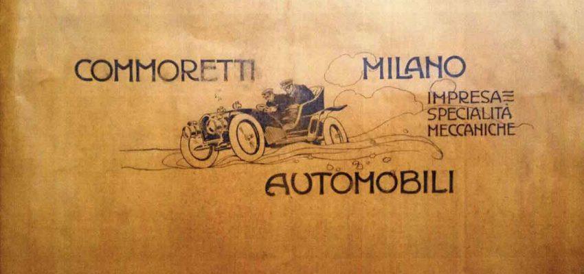 Automobili Commoretti: l'inizio del secolo a Milano in un volume unico