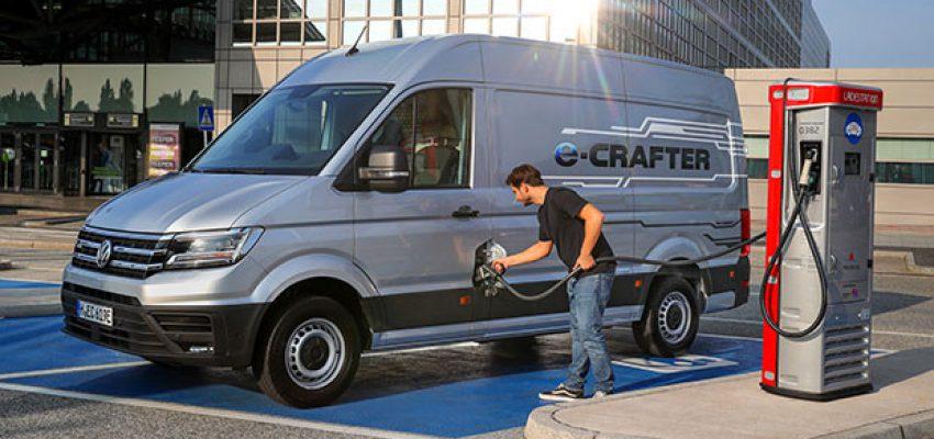 Volkswagen e-Crafter, trasportare rispettando l'ambiente