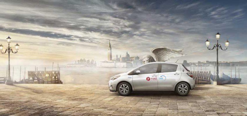 Car Sharing ibrido: a Venezia c'è Yuko with Toyota
