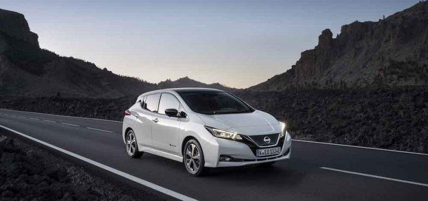 Mobilità elettrica in Italia: Nissan la regina