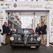 Alfa Romeo: la 6C del 1948 premiata in Belgio