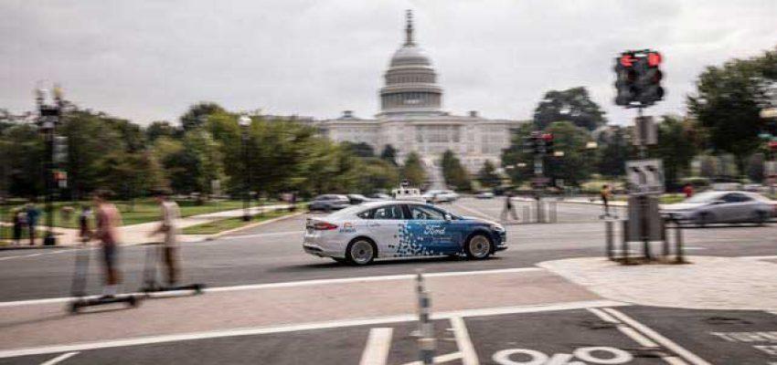 Guida autonoma: Ford porta i test per le strade di Washington