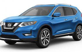 Nissan X-Trail: nel blu, dipinto di blu…