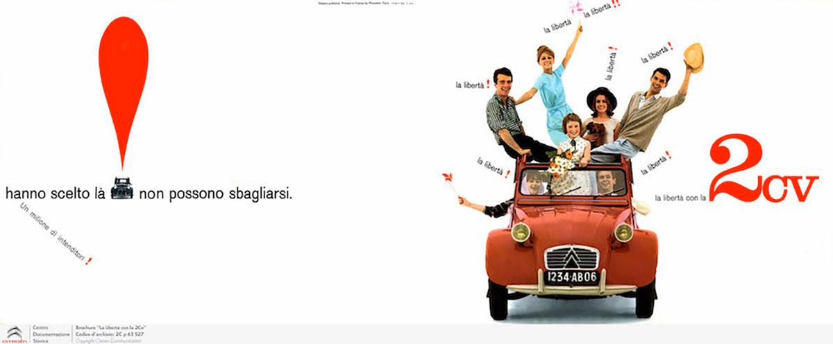 citro u00ebn  il primo depliant pubblicitario della 2cv