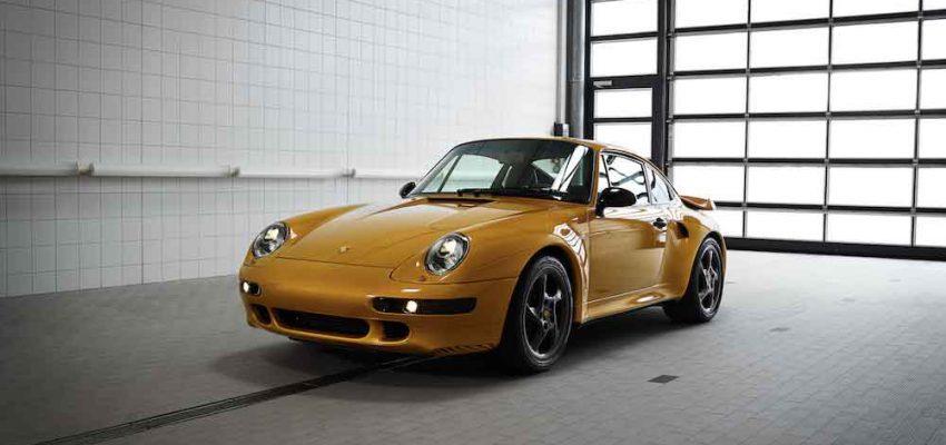 Porsche: la 911 Turbo Classic all'asta per oltre due milioni di euro