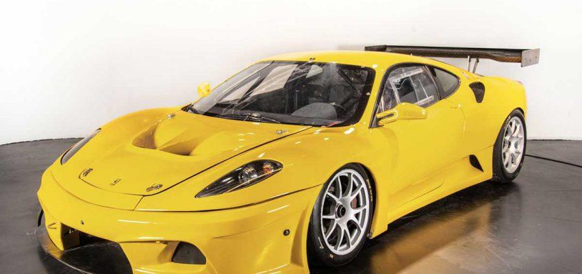La Ferrari gialla, erede della 360 Modena
