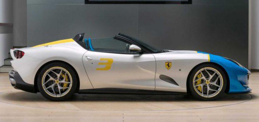 Ferrari SP3JC, la nuova one-off