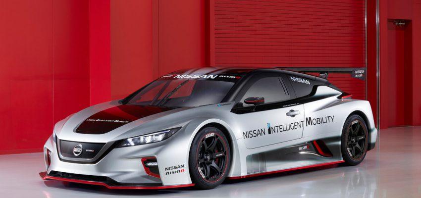 Nissan Leaf Nismo, l'elettrico scende in pista