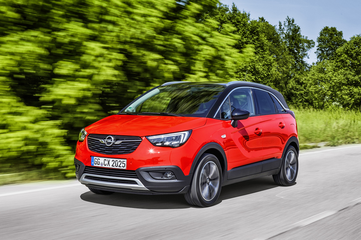 """""""Best in Class Car 2017"""": The Opel Crossland X was named the best performer in its category by Euro NCAP."""