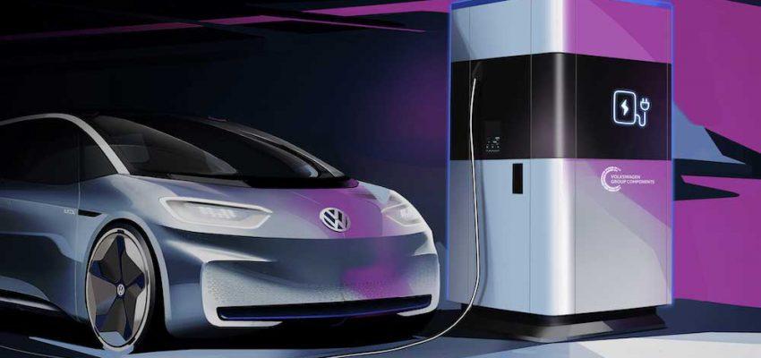 Volkswagen: la Stazione Mobile di Ricarica