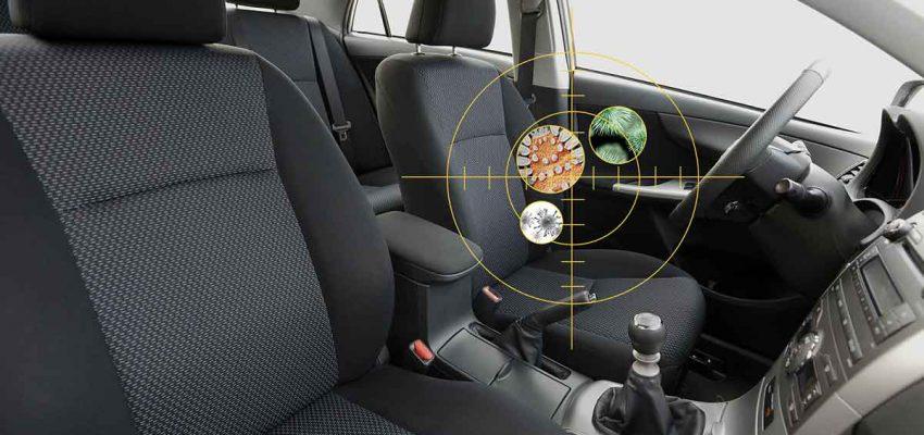 Igienizzare l'auto fa bene alla salute