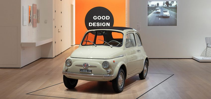 La Fiat 500 in bella mostra al MoMa di New York
