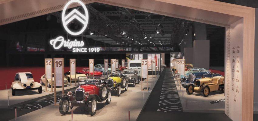 Citroen: 100 anni e 30 modelli iconici a Retromobile