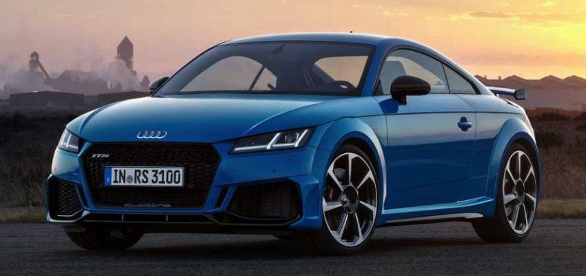 Audi TT mostra i muscoli