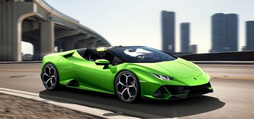Lamborghini Huracàn, la Spyder estrema del Toro