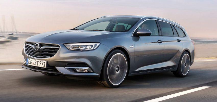 Opel Insignia con trazione 4×4