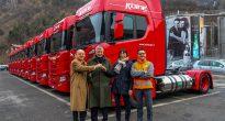 Scania e Sanpellegrino: partnership a basso impatto ambientale
