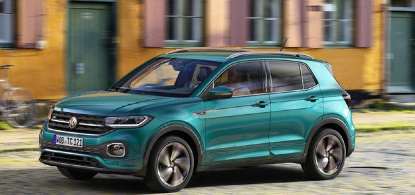 """Volkswagen T-Cross, c'è Cattelan per la """"prima"""""""