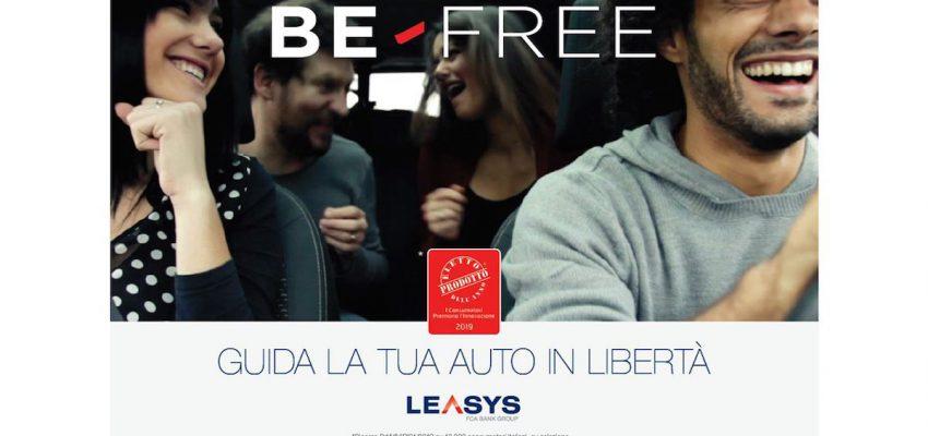 Leasys: Be Free è Prodotto dell'anno 2019 nella categoria servizi auto