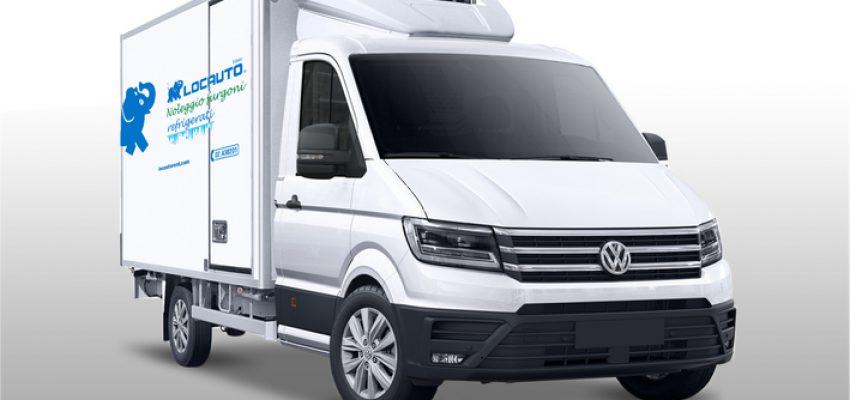 Flotta di furgoni frigo per Locauto Van