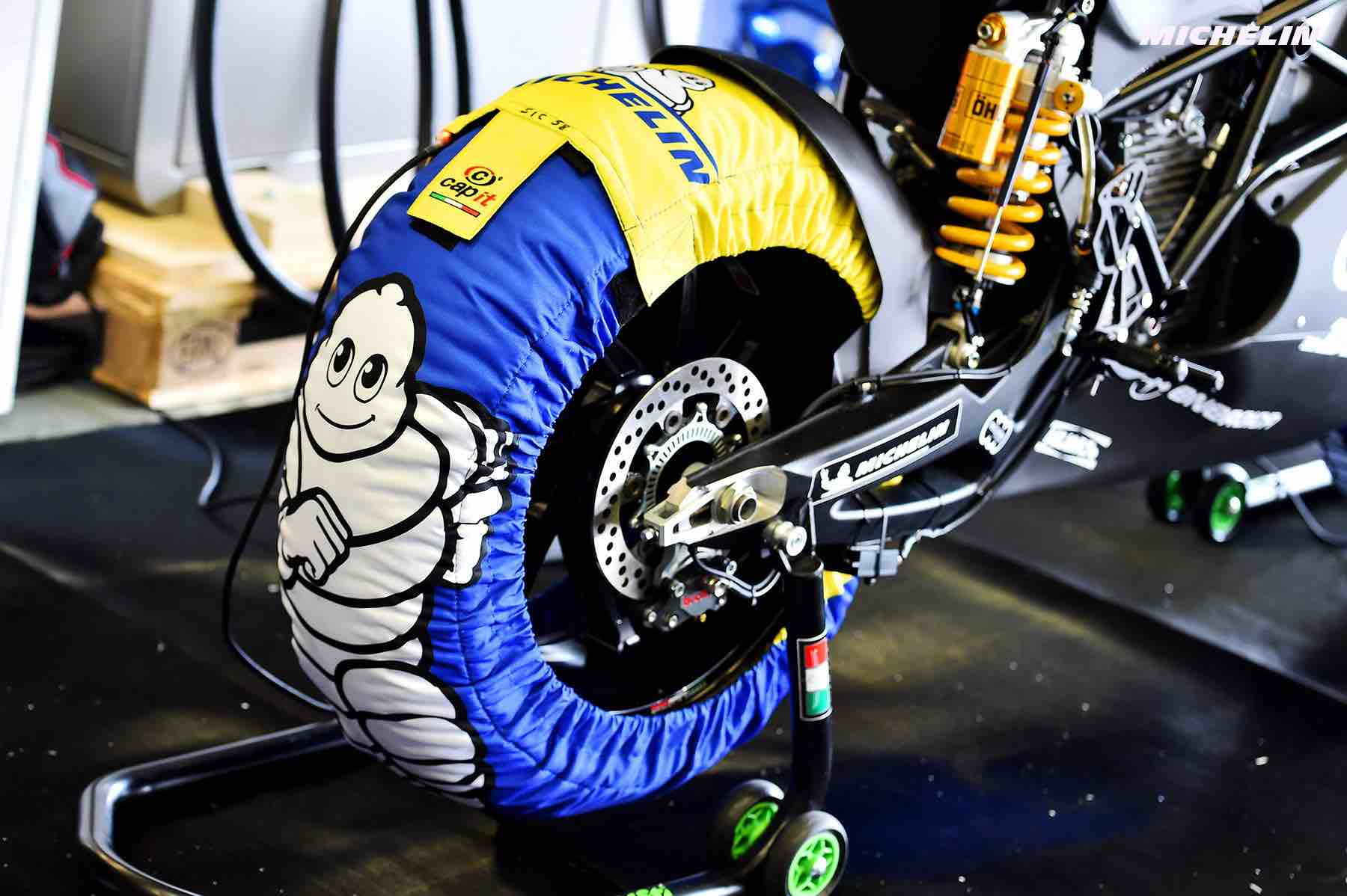 Divers tires Test Jerez 2018 (Circuit Jerez) 23-24.11.2018 photo: MICHELIN