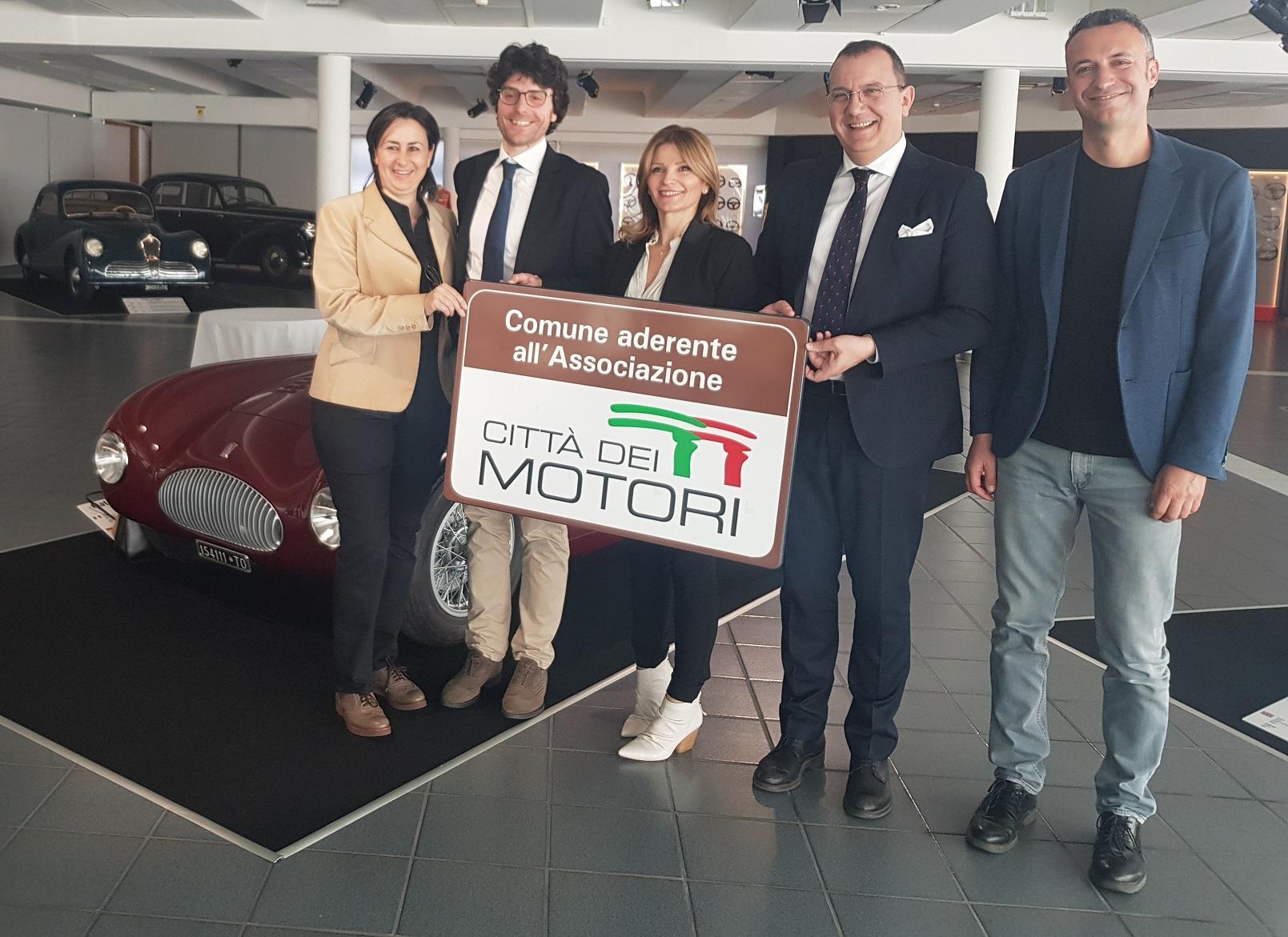 Museo-Nicolis-Città-dei-Motori-da-sin-Roberta-Tellini-Massimiliano-Morini-Silvia-Nicolis-Roberto-Dall-Oca-Franco-Patrignani-2019